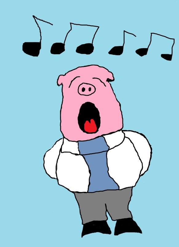 singing-pig